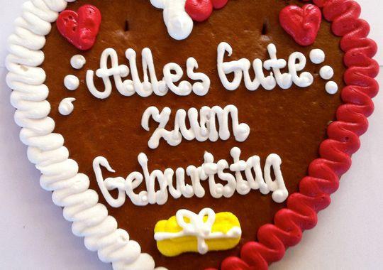 Открытки, картинки с днем рождения немецкие